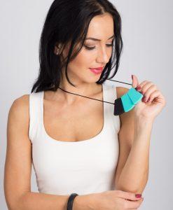 Colier Alaptare din silicon fara BPA Lebebe  – 46